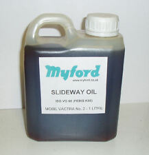 1 LITRE OF ISO VG 68 SLIDEWAY OIL Direct From Myford / ML7 SUPER 7 ML10 LATHES