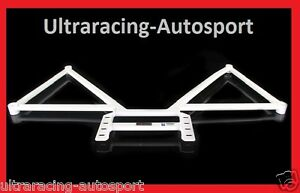 BMW E92 3 Series Ultra Racing Rear Lower Bar 6 points 1 piece 3.5TT 2006