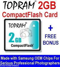 2 GB GIG COMPACT FLASH CF CARD UPGRADE ROLAND EDIROL R-1 RECORDER NEW FREE CD S6