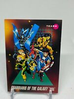 1992 Impel Marvel Universe Series 3 Teams Guardians of the Galaxy #178