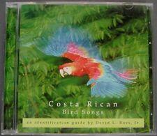 Costa Rican Bird Songs:  Identification Guide (CD, 2001, Zona Tropical)