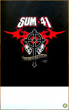 SUM 41 13 Voices 2016 Ltd Ed New RARE Poster +Free Rock/Pop Punk/Metal Poster!