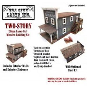 28mm 2 Storey Building - TriCityLaserInc - SENT FIRST CLASS