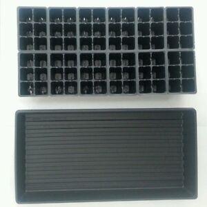 Seedling Germination Kit (Set of 5) Trays + Inserts; Start 360 Plants