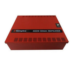 New simplex 4009-9602 IDNAC Repeater Red Fire Alarm