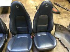 Mazda Mx5 set of Blue leather seats ( A10)