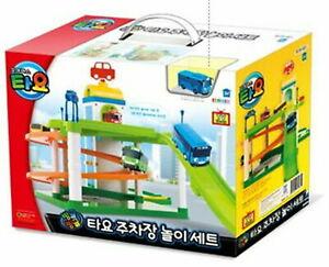 Tayo Little Bus 3PCS Wind Up Clockwork Bus Gani+Rogi Car Set Korean TV Animation Toy for Toddler Boys