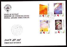 Kuwait 1994 FDC Mi.1372/75 Freimarken Definitives   Martyrdom Sand [kf024]