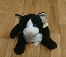 Ganz AWESOME TOSS EMS Bean Bag Toy Plush Stuffed Aninal Pre Webkinz Black Cat