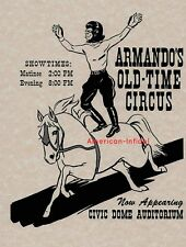 Conquest of the Planet of the Apes Handbill Prop Repro Armando's Old Time Circus