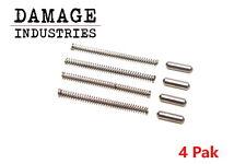 Damage Industries MilSpec Takedown Detent & Spring 5.56 223 308 (4 Pack)