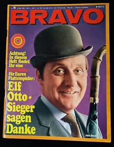 1968 THE AVENGERS Patrick Macnee STEED Bravo Magazine RARE cult tv itc