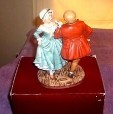 Norman Rockwell Christmas Dancers Limited Edition 1981 Gorham 2753/7500
