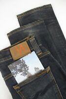UVP $155 Nudie Jeans Düster Tim Org. Wornin Pepper Herren W30/L32 Jeans 2141_ MM