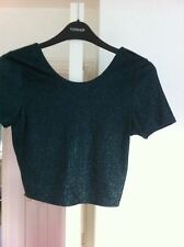 Topshop Short Sleeve Party Regular Tops & Shirts for Women