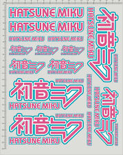 Self Adhesive Itasha Sticker Hatsune Miku for 1/10 1/12 model kits 20302