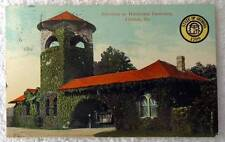 POSTCARD ENTRANCE TO WESTVIEW CEMETERY ATLANTA GEORGIA #a56