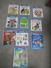 10 VINTAGE FISHER-PRICE TALK TO ME BOOKS