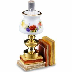 Reutter Porcelain - Dollhouse Miniature Lamp with Book