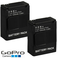 2x Camera Battery for GoPro HERO3 3+  Black Silver White AHDBT-301/201 UK POST