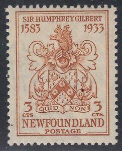 Newfoundland # 214 Mint Never Hinged Very Fine Single