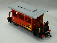 Playmobil  G Scale operating Train RED PASSENGER CAR  in MINT CONDITION