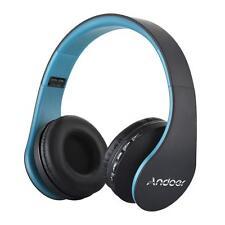 Foldable Wireless Bluetooth Wired Headphone Earphone Headset Handsfree+MP3+SD+FM