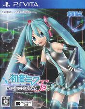 [FROM JAPAN][PSVITA] Hatsune Miku -Project DIVA- F 2nd / Sega [Japanese]