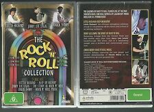 THE ROCK N ROLL COLLECTION CHUCK BERRY JERRY LEE LEWIS LITTLE RICHARD NEW 3 DVD