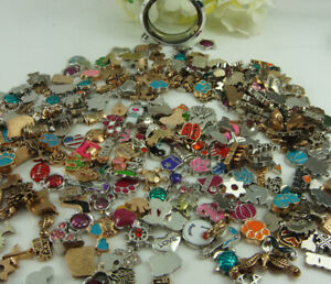 100pcs new mix mini floating charm for glass locket charm wholesale hot #3