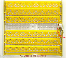 Incubator AUTOMATIC 48 Chicken Quail Duck Turner Tray with 110Volt PCB motor NEW