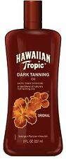 Hawaiian Tropic Tanning Oil Spf0 8oz