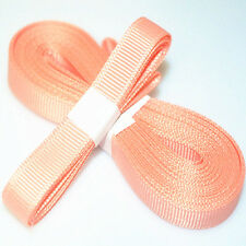 "5yds 3/8"" (10 mm) Watermelon red Solid Grosgrain Ribbon Hair Bows Ribbion"