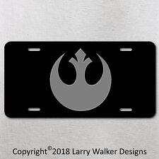 Star Wars Rebel Alliance Aluminum license plate tag New