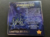 DLR - Diamond Celebration Event 60th Jeweled Castle Pin Disney Pin 109193