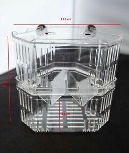 Aquarium Fish Tank Breeding Breeder Rearing Box Hatchery Isolation Case, Medium
