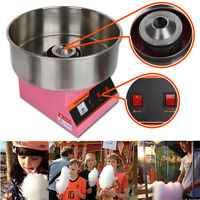 Electric Commercial 1300W Cotton Candy Floss Maker Machine Party Kitchen Snack