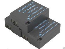 new 3 piece DMW-BLC12 BLC12E Battery for Panasonic DMC-FZ1000 FZ200K G6 GH2GK G5