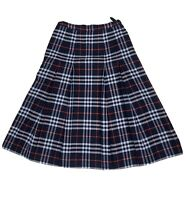 Burberry's Burberry Vintage Pleated Nova Check Skirt Sz12