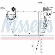 Ladeluftkühler NISSENS 96487
