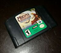 Aidyn Chronicles The First Mage (Nintendo 64, 2001) N64 Cart Authentic & Tested