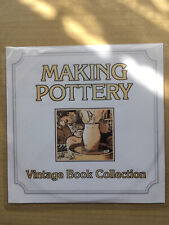 Making Pottery Vintage Book Collection Pc CD/DVD