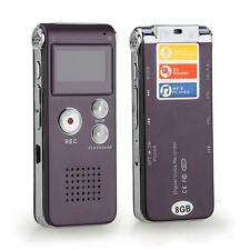 8GB 650HR USB LCD SCREEN DIGITAL AUDIO VOICE RECORDER DICTAPHONE MP3 PLAYER BEST