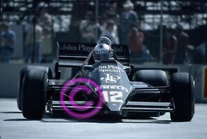 RACING Original 35mm Slide F1 - Nigel Mansell - Lotus 1983 Long Beach Formula 1