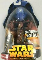 HASBRO STAR WARS REVENGE OF THE SITH CHEWBACCA WOOKIE RAGE! 2005 ACTION FIGURE