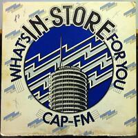 Capitol Promo Rock Comp - Cap FM #2 LP VG+ SPRO-8552/8553 Vinyl 1977 Record