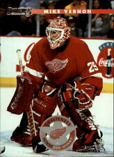 1996-97 Donruss Red Wings Hockey Card #52 Mike Vernon