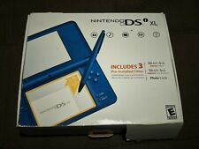 Nintendo DSi XL Blue Complete in Box Tested Works GBA
