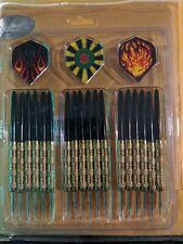 6 Sets (18pcs) of Steel Tip Darts Slim Barrel with Nice Dart Flights US Shipping