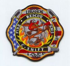 Lebanon Fire Department C Shift Patch New Hampshire NH